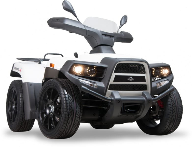 Herkules Sport Quad Quadrift T6 525ccm weiß Angel Eyes