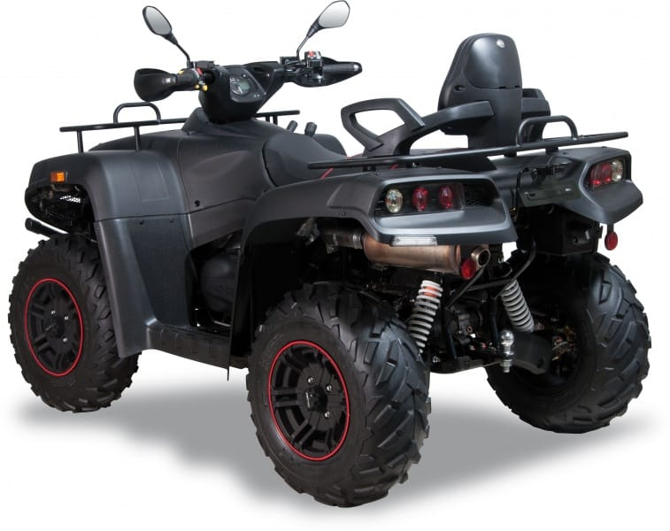BlackRock Edition, Gladiator BlackRock in schwarz, ATV, Quad